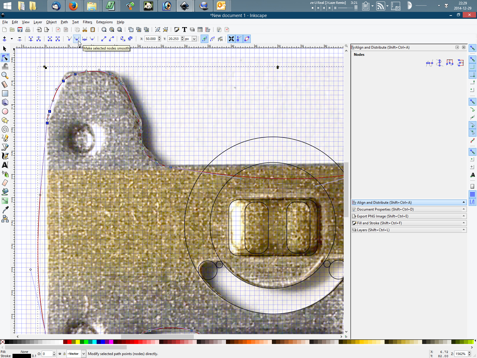 Drawing Lines In Inkscape : Drawing rounded corners in inkscape mini tutorial